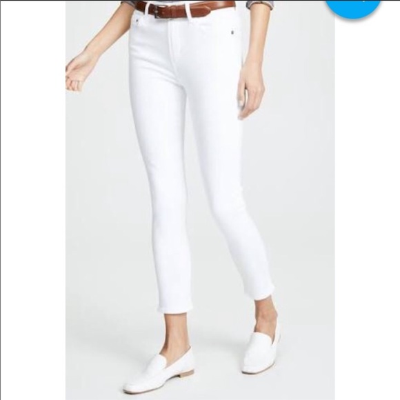 Citizens Of Humanity Denim - NWOT CoH White Denim Rocket Jeans